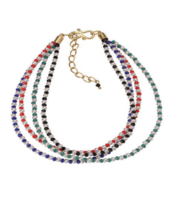 BAUBLE BURST Colour Strands Anklet