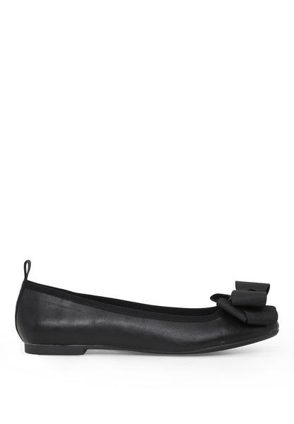 London Rag Women's Black Flat Ballerina $ SH1625