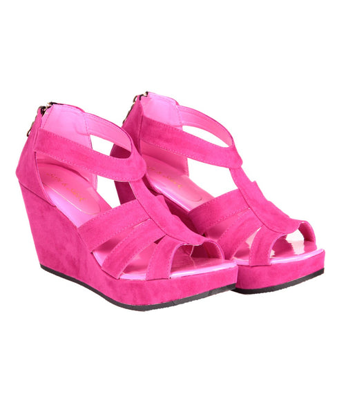 SOFT & SLEEK Wedge Heel Sandal AW_100000695479