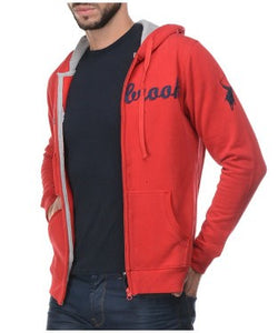 Westbrook Polo Club Hooded F/S Sweatshirt With Zipper
