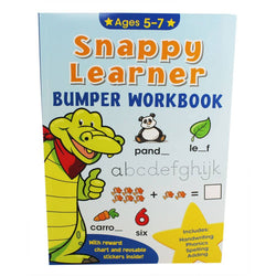 Snappy Learners Bumper Workbook Ages 5-7