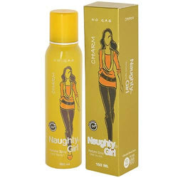 Naughty Girl CHROME No Gas Deodorant for Women- 150ml