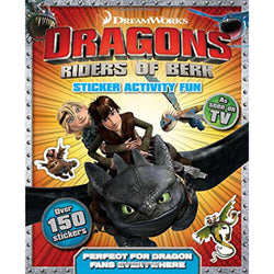 Sticker and Activity Book (How to Train Your Dragon)