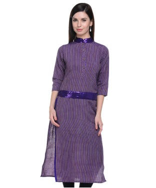 LAVENNDER Purple Kurta