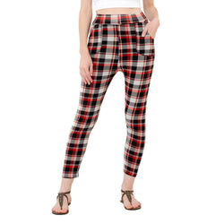 Baluchi's Check Plaid Print Jeggings $ BLC_JEG_14