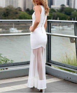 Maxi Dress with G String