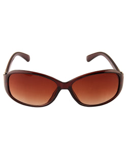 Brown Smart Sunglasses For Women-AD_1215_BrownBrown
