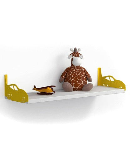 THE NEW LOOK Yellow Side Cars Wall Shelf-100000813546