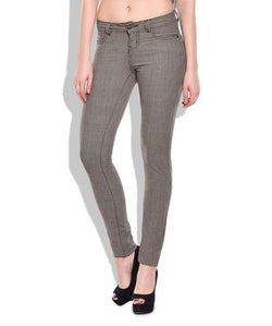 Chlorophile Women's Bamboo Checker Jeggings