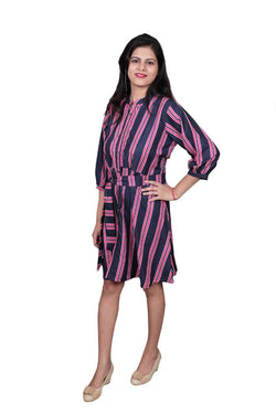 Libas Closet The A Line Cotton Dress $ Libas-043