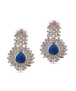 BAUBLE BURST Blue Moonlight Earrings