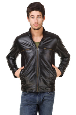 Smerize Men's Wolverine Faux Leather Jacket $ 19SM