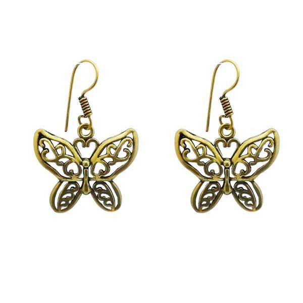 Tanishka Fashion Gold Plated Dangler Earrings $ 1311606