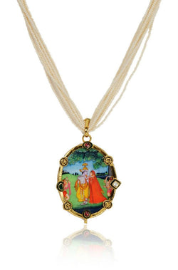 Vrindavan Necklace - JBJHNEC1228