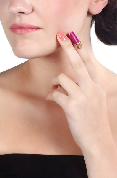 Glam Girl Nail Ring - JIWURIN5782