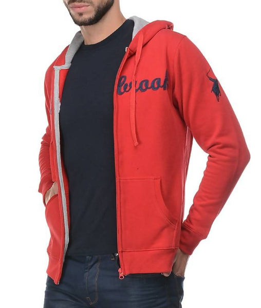Hooded F/S Sweatshirt With Zipper AW_100000773596