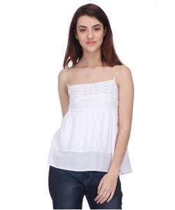 Koton White Tube Top