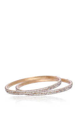 Bauble Burst Diamond Trail Bangles Set