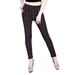 Baluchi Check Plaid Print Jeggings $ BLC_JEG_17