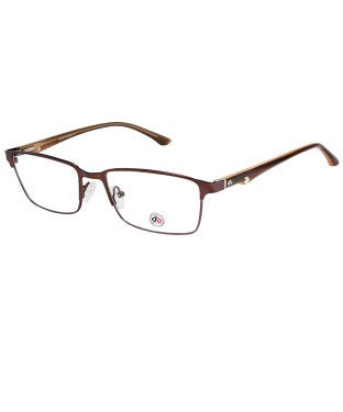 David Blake Copper Rectangular Full Rim EyeFrame