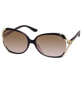 David Blake Grey Oversized UV Protection Sunglass