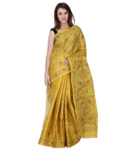 Saree With Unstitched Blouse AW_100000016167