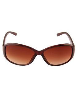 Brown Smart Sunglasses For Women-AD_1219_BrownBrown