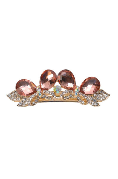 Cocoa  Droplets  Hair Clip - JIFDHCL6049