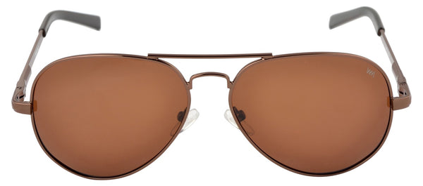 Lawman UV Protected Brown Unisex Sunglasses-LawmanPg3 Sunglasses LM4513 C2
