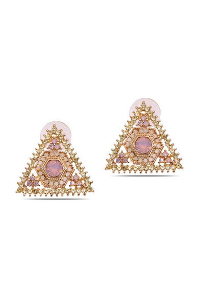 Pyramid Earrings - JIJEEAR5531