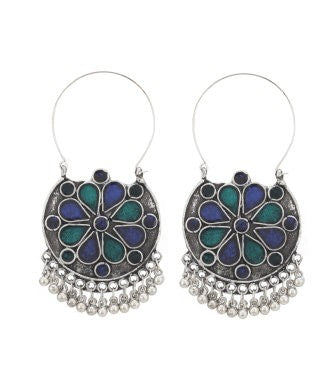 Aradhya Metal Chandbali Earring, Drop Earring, Dangle Earring, Hoop Earring