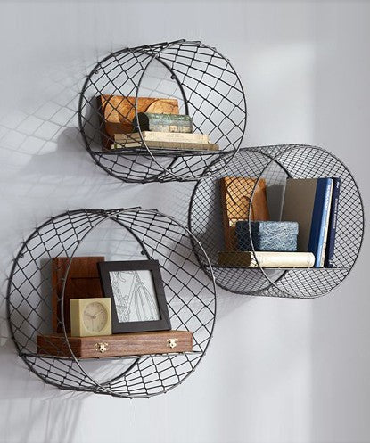 THE NEW LOOK Circular Wall Shelf-100000813562