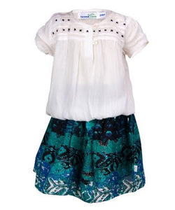 ShopperTree Girl's Top with Skirt
