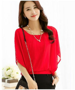 I Wear My Style Red H/S Top