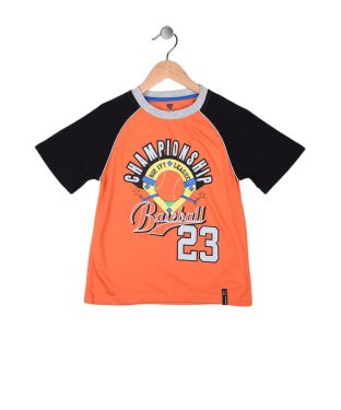 612 League Orange And Black S/S T-Shirt