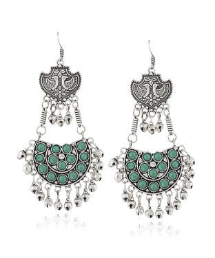 Aradhya Beads German Silver Dangle Earring