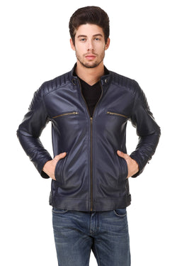 Smerize Men's Wolverine Faux Leather Jacket $ 10SM