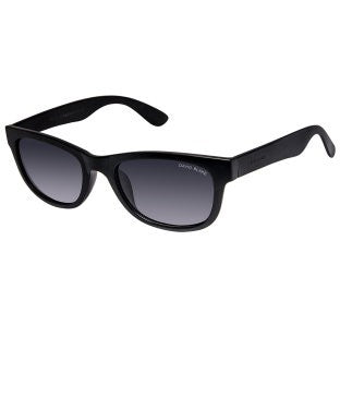 David Blake Grey Wayfarer Polarized Gradient Sunglass