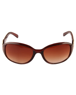 Brown Smart Sunglasses For Women-AD_1223_BrownBrown