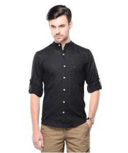 Smith & Co Black F/S Shirt