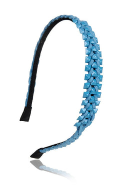 Braided Blue Hairband - JIJEHBD4340