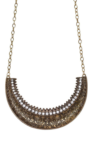 Golden Swing Necklace - JIGFNEC9872