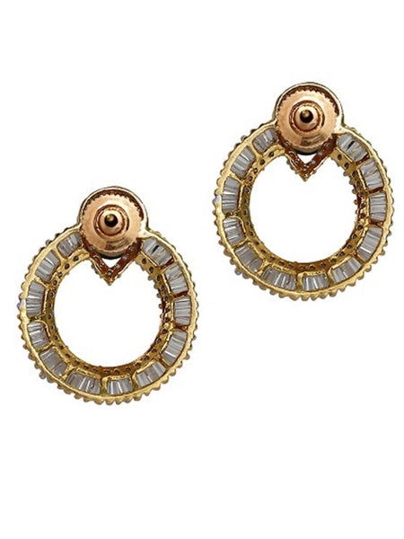 Diamond Drama Multi Stone Earrings - JOAMEAR3018