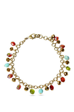 BAUBLE BURST Colour Sprinkles Anklet