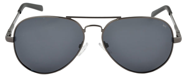 Lawman UV Protected Grey Unisex Sunglasses-LawmanPg3 Sunglasses LM4513 C1 (Grey)