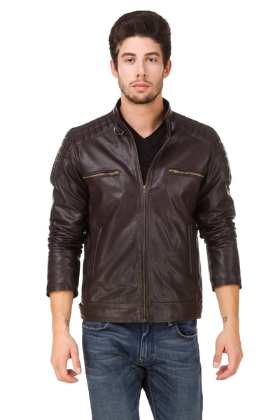 Smerize Men's Wolverine Faux Leather Jacket $ 6SME