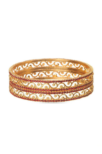 BAUBLE BURST Filligiri Weave Bangle Set
