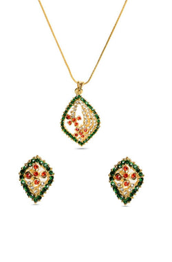 Leaf Trail Pendant Set - JDGMPES1545