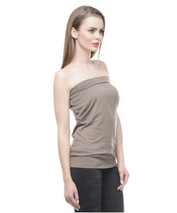 Alcott Brown Tube Top