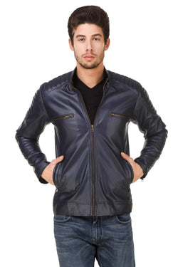 Smerize Men's Wolverine Faux Leather Jacket $ 14SM
